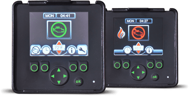 Screens - Anti-Idling Technology - GRIP Idle Management System